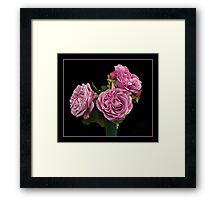 Roses for U Framed Print