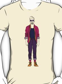man in fashion clothes T-Shirt