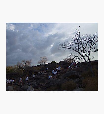 Excursion to Ubirr Photographic Print