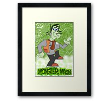 Halloween Poster 2009 - Monster Mash Framed Print