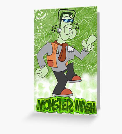 Halloween Poster 2009 - Monster Mash Greeting Card