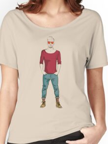man in fashion clothes Women's Relaxed Fit T-Shirt