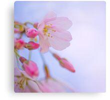 'Tis my faith that every flower enjoys the air it breathes... Canvas Print