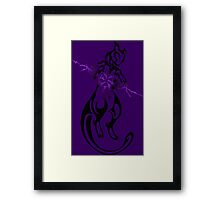 pokemon mewtwo mew anime shirt Framed Print