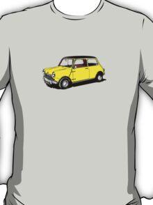 Yellow Mini Cooper T-Shirt