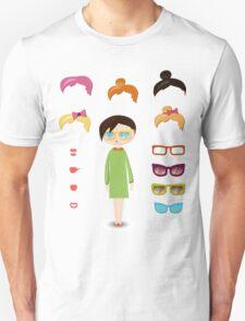 girl fashion set Unisex T-Shirt