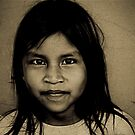 Huaorani Girl by tomcelroy