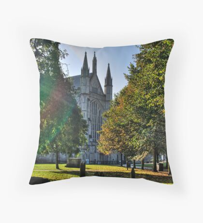 Autumn Morning - Winchester Throw Pillow