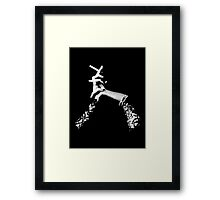 The Sophisticated Smoker Framed Print