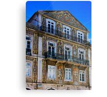 Decorative Exterior in Lisbon Metal Print