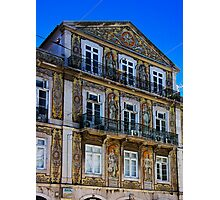 Decorative Exterior in Lisbon Photographic Print