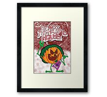 Halloween Poster 2009 - Lets Rock This Haunted House Framed Print