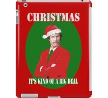 Burgundy Santa iPad Case/Skin