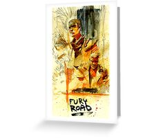 Fury Road Greeting Card