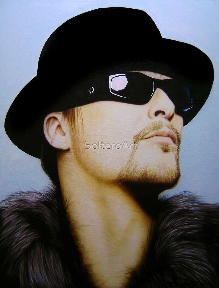 Kid Rock Portrait by SolteroArt