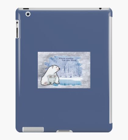 Mother Bear with babies iPad Case/Skin