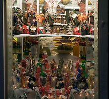 Christmas Window, Burano by parischris