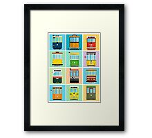 Streetcars of San Francisco Framed Print