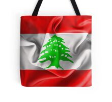 Lebanon Flag Tote Bag