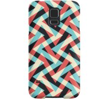 Crazy Retro ZigZag Samsung Galaxy Case/Skin
