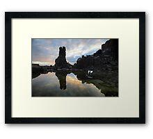 Sunrise TV Framed Print