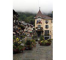 St Gervais-les-Bains Photographic Print