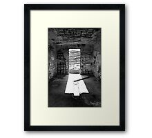 Inside The Outpost Framed Print