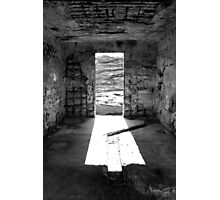 Inside The Outpost Photographic Print