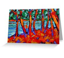 Red River Gums Greeting Card