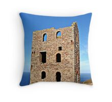 """ The Ore Crushing House"" Throw Pillow"
