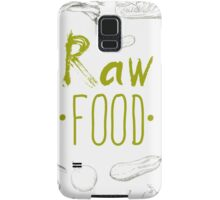 hand-painted vegetables Samsung Galaxy Case/Skin
