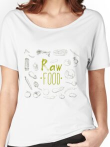 hand-painted vegetables Women's Relaxed Fit T-Shirt