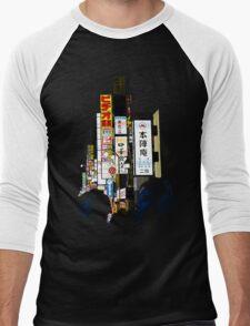 Tokyo Sounds Men's Baseball ¾ T-Shirt