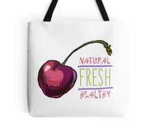 hand drawn vintage illustration of cherry Tote Bag