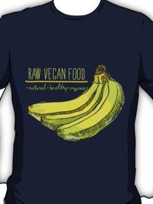 hand drawn vintage illustration of banana T-Shirt