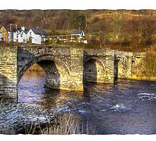 Carrog Bridge Corwen by Kelvin Hughes