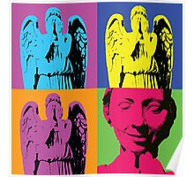 """Don't blink."" -Andy Warhol Poster"