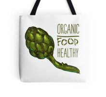 green fresh useful eco-friendly artichoke Tote Bag