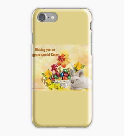 Eggstra-Special  Easter  iPhone Case/Skin