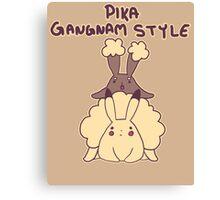 Pikachu Gangnam Style Parody Canvas Print