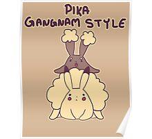 Pikachu Gangnam Style Parody Poster