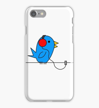 Bird on a Wire iPhone Case/Skin