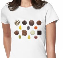 Sweets Mixed Chocolate and Fruit Pastilles Womens Fitted T-Shirt