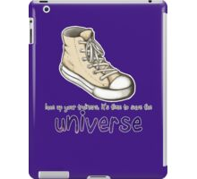 lace up your trainers iPad Case/Skin