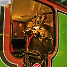 Inside The Cab #2 (Steam Train) by Trevor Kersley