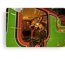 Inside The Cab #2 (Steam Train) Canvas Print