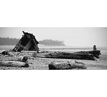 run aground Photographic Print