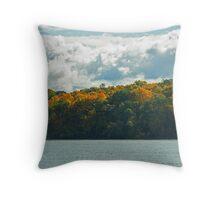 Autumn on the Saint Lawrence  Throw Pillow