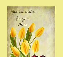 Special Wishes for Mum by Ann12art