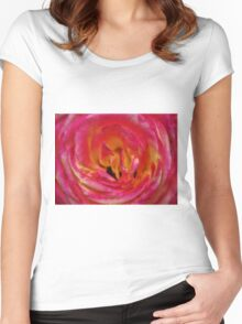 Precious Rose Women's Fitted Scoop T-Shirt